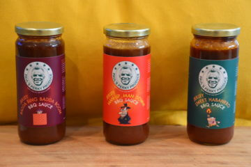 BBQ Gift Pac (3 bottles) = Badda Bing Badda Boom, Man Up…Man Down!, and Sweet Habinero (20% OFF)