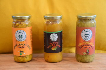 Salsa Gift Pac (3 bottles) = Mango Ginger, Kiwi Pineapple Aloha-ha-ha-ha and Jimmy Crack Corn (20% OFF)